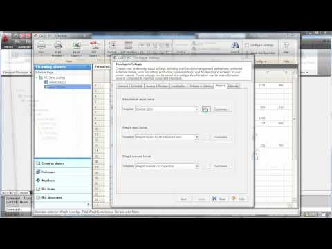 RC Demo - Viewing and Customising Schedules