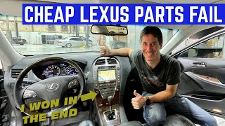 I Ordered ALL The Parts To Fix My CHEAP Lexus And Everything Went WRONG
