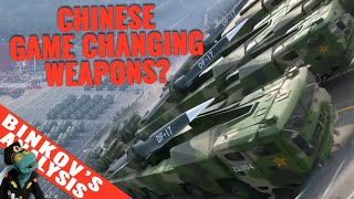 New game changing weapons shown at Chinese military parade; October 2019