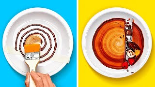 36 AWESOME PLATING HACKS TO PRESENT FOOD LIKE A PRO