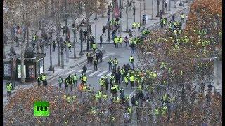 Round 4: Yellow Vests protest in Paris