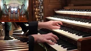 Vierne: Carillon De Westminster - Marie-Agnès Grall-Menet, Orgue St-Nicolas-du-Chardonnet Paris