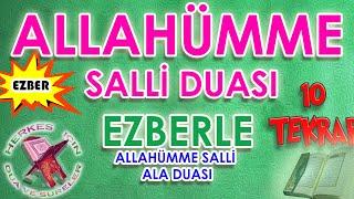 Allahümme Salli Duası Ezberle Çocuklar Için Allahümme Salli Ala Ezberleme 10 Tekrar