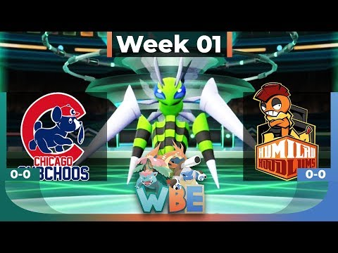 THE RUST IS REAL! - Let's Go WBE Week 1 - Chicago Cubchoos vs Humilau Hoodlums