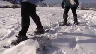 preview picture of video 'Raquetas de nieve en Sabiñánigo'