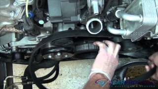 Serpentine Belt Replacement Mercedes Benz ML