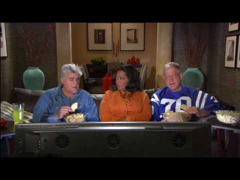I missed this during the Superbowl, great ad for Late Show, with Letterman, Leno and Winfrey