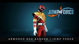 Armored Red Ranger from Power Rangers| Jump Force