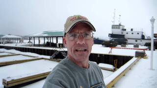 preview picture of video 'Winter Boating Report From Midland'