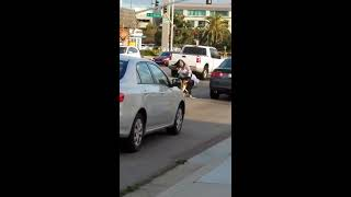 Off-duty cop interrupts road rage brawl on streets of Chula Vista