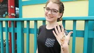 Last Day In Hawaii - I Got A Henna Tattoo! / Jordan Mae Williams