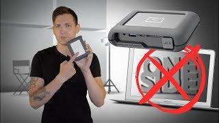 Внешний жесткий диск, которому не нужен ноутбук | DJI copilot boss