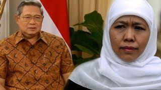 SBY Beri Ucapan Selamat kepada Khofifah setelah Pantau Hasil Hitung Cepat Pilkada 2018