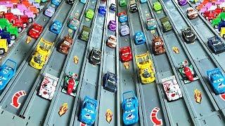 Гоночные машины Тачки 3 - Игры Гонки и Трасса - Racing Lightning mcqueen Cars 3 - Cars for Kids