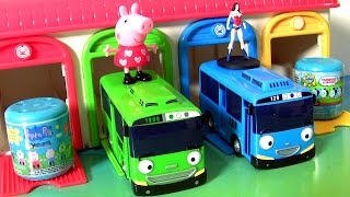Tayo the Little Bus Garage Station Mashems Thomas Trains Mashems Peppa Pig 꼬마버스 타요