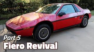 The Cleanse   1985 Fiero 2M4 Revival - Part 5