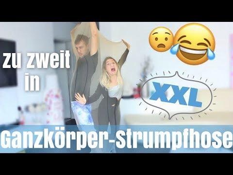 zu zweit in XXL GANZKÖRPER - STRUMPFHOSE 😮 | BibisBeautyPalace