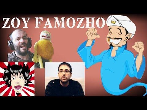 FAMOZHO!!! - AKINATOR Vs VICIO OMT, PUTUPAU, ROSGAMER y FLAT ERIC