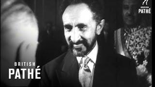HaileSelassie Visits Paris (1954)