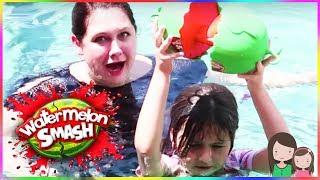 Ava Bekommt Eine Schleim Dusche 😂 Watermelon Smash Challenge   Alles Ava