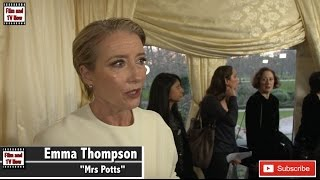 Emma Thompson believes Emma Watson is the perfect Belle at the Beauty and the Beast UK Premiere