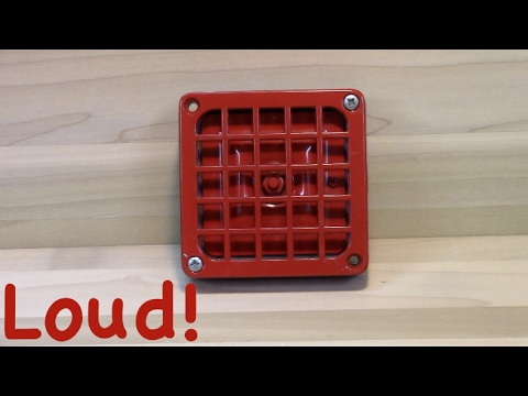 Review Of The Simplex 4050 Vintage Fire Alarm Horn
