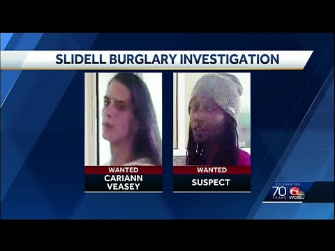 Woman tied to multi-state crime spree wanted for Slidell burglary, police say
