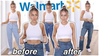 DIY MOM Jeans From $10 WALMART MEN JEANS | YesHipolito