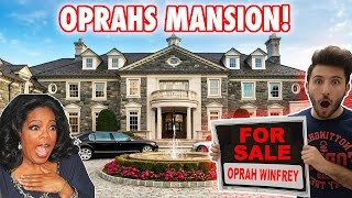 (GONE WRONG!) I PUT OPRAH WINFREYS HOUSE UP FOR SALE! | CHASED BY SECURITY (PS4 GIVEAWAY WINNER!)