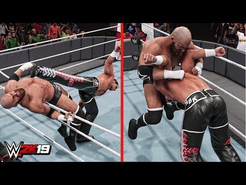 WWE 2K19 Top 10 Epic Royal Rumble Reversals!