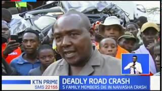 Five family members die in Naivasha crash