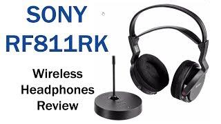 Sony RF811RK Wireless Comfort Headphones Review