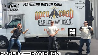 Dayton Kane Takes Another Demo Ride with Open Road Harley-Davidson