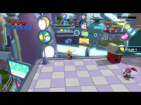 Видео № 0 из игры Пакман в мире привидений [3DS]