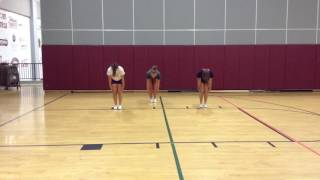Varsity - Belleville High School (floor cheer)