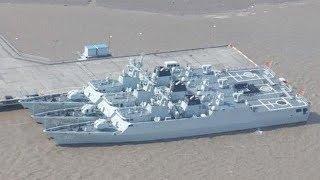 中国海军为何要疯狂建造50多艘056?巴西人:中国这种模式很精明 【一号哨所】