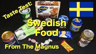 Taste Test: Swedish Foods from the Magnus