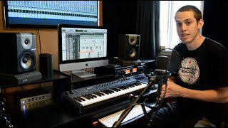 How to set up a home recording studio - Detailed version plugging everything in