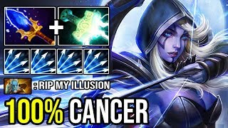 WHY EVERYONE SO PAPER Electric Multishot Mjollnir + Aghanim Ranger 100% Deleted PL Illusion DotA 2