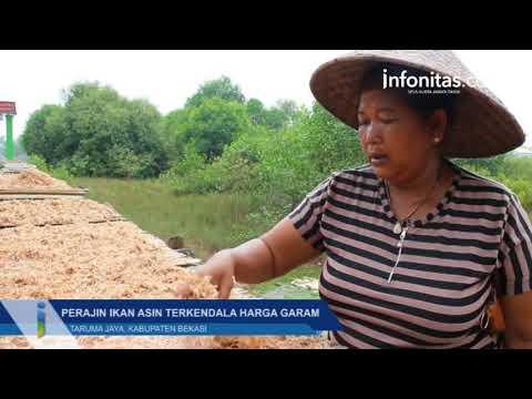 Perajin Ikan Asin Terkendala Harga Garam, Kabupaten Bekasi