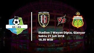 Live Streaming O Channel Bali United vs Bhayangkara FC Pukul 18.30 WIB