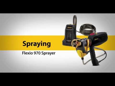 FLEXiO 970 Spraying Video