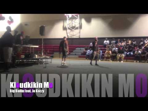 Kloudkikin Mo - Big Ballin feat. Jo Kozzy (Rock The Mic Performance)
