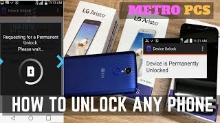 HOW TO UNLOCK ANY METROPCS PHONE to Use with ANY Carrier Domestic & International