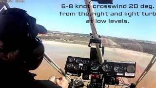Rans S12 Airaile - Return flight Towerinning Lake to home base Wagin YWGN in Western Australia
