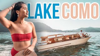 🛥️ LAKE COMO Travel Guide Lago Di Como BELLAGIO VLOG [2019]