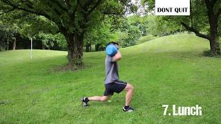 HIIT Tabata Kettlebell Workout by DONT QUIT