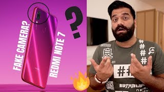 Redmi Note 7 Fake 48MP Camera? Explained 🔥🔥🔥
