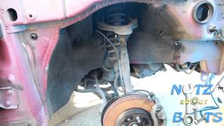 1994-2001 Acura Integra GSR Front suspension replacement