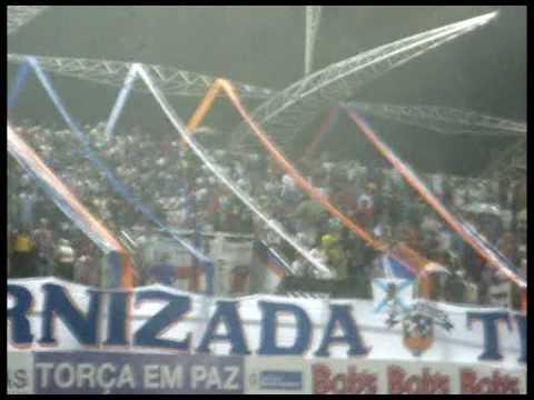 """""""Gol e Comemoração da torcida - DCFC 1 x 1 TIGRES"""" Barra: Infernizada Tricolor • Club: Duque de Caxias"""